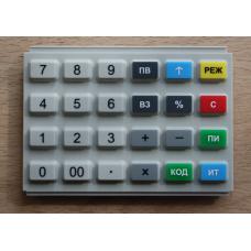 Клавиатура резиновая АВЛГ 410.85.10 для Меркурий 115Ф