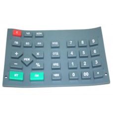 Клавиатура резиновая ККМ-130 Россия для Меркурий 130Ф